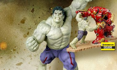 Rampaging Hulk Battles the Hulkbuster as EE Exclusive ArtFX Statue