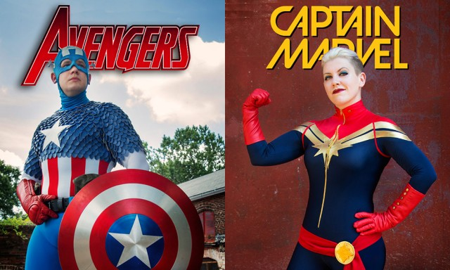 Marvel Cosplay Covers