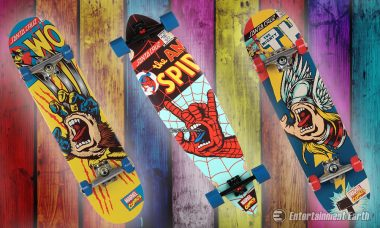 Catch a Ride Down the Boardwalk with Marvel Screaming Hand Skateboards