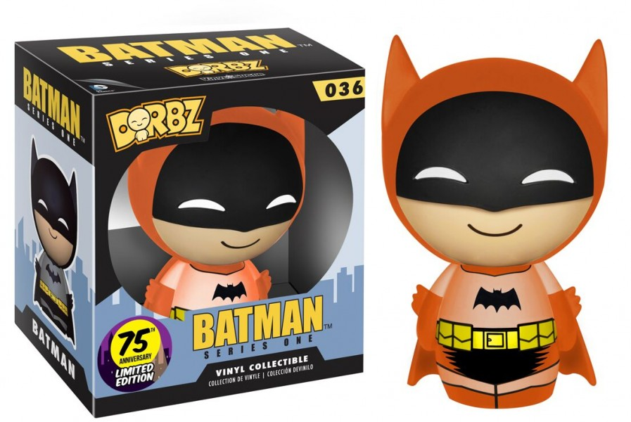 Orange Batman Dorbz