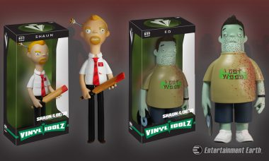 Ring Mum, Dodge Zombies, Buy Shaun of the Dead Vinyl Idolz