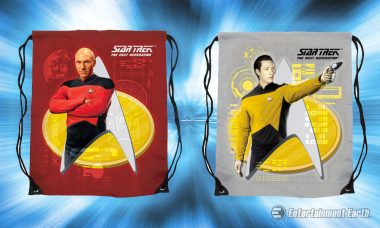 Boldly Go in Style with These Star Trek: The Next Generation Cinch Bags