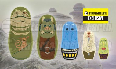 Jabba the Hutt and His Nesting Dolls Invite You to an Exclusive Party at His Palace