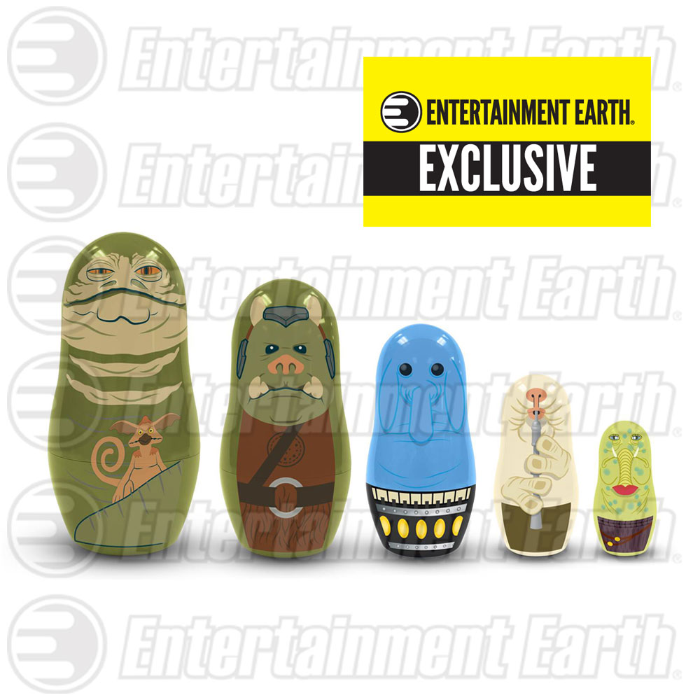 Star Wars Jabba's Palace Nesting Dolls Exclusive