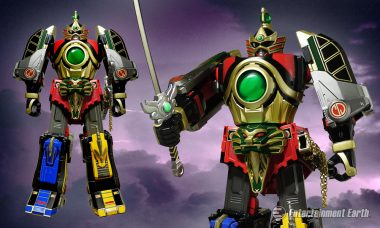 Power Rangers Morph Into the Thunder Megazord Die-Cast Action Figure