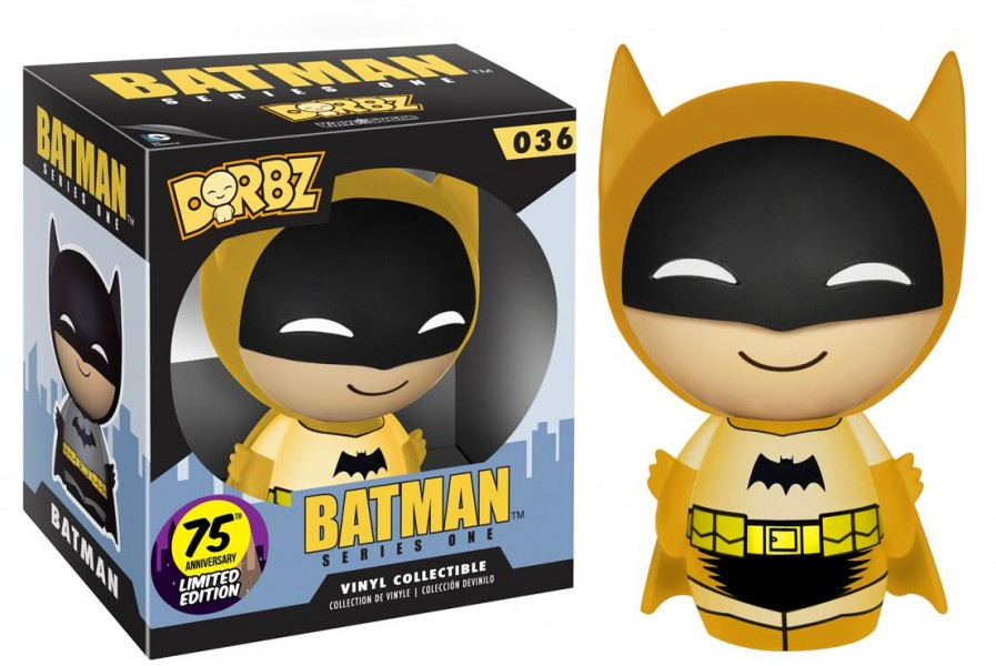 Yellow Batman Dorbz