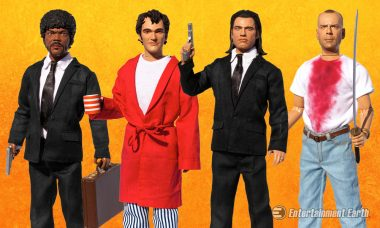 Relive the Best Moments of Pulp Fiction with Talking Action Figures