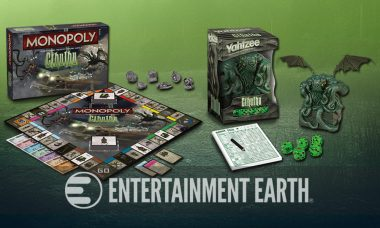The Great Old One Invites You to Game Night with Cthulhu Monopoly and Yahtzee