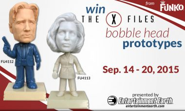 Entertainment Earth Giveaway: X-Files Bobble Head Prototypes
