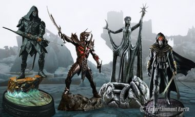 Enter an Enchanted Land with The Elder Scrolls Statues
