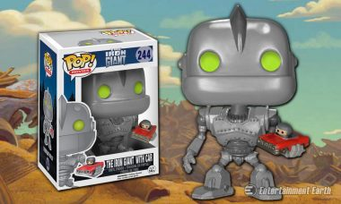 Beloved Iron Giant and Hogarth Are Next to Join Your Pop! Vinyl Collection