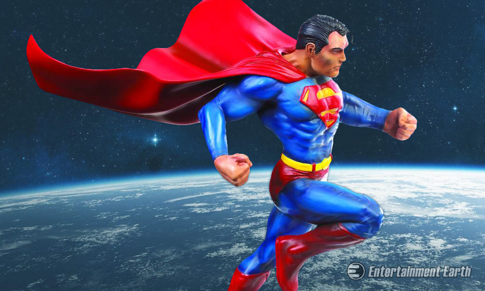 Superman Comic Book Statue Will Make You Believe In Heroes