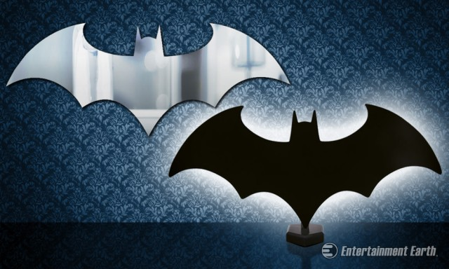 Batman Logo Light and Mirror