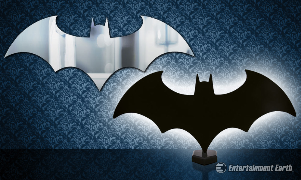 Light Up And Reflect Your Inner Hero With A Batman Logo