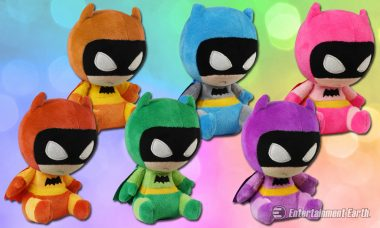 He Is the Night, and Now He Is the Rainbow as Batman Mopeez Plush