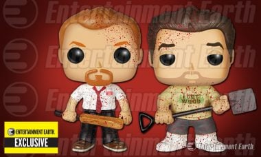 Get Ready for Bloody Good Fun with Exclusive Shaun of the Dead Pop! Vinyls