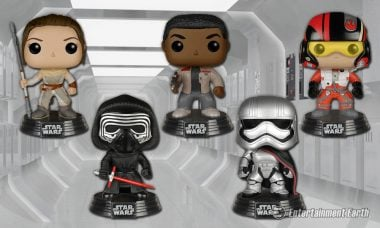 Star Wars: Force Awakens Trio, Villains, and More Are the Newest Pop! Vinyls