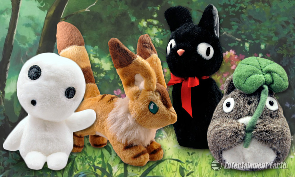 Cuddle Up With Studio Ghibli S Colorful Characters Creatures And