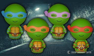 The Teenage Mutant Ninja Turtles Take on Their Enemies as Charming Dorbz