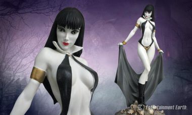 Add Vampirella to Your Collection as New Sensual Statue
