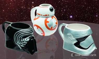 Star Wars: The Force Awakens Characters Get Molded into Ceramic Mugs