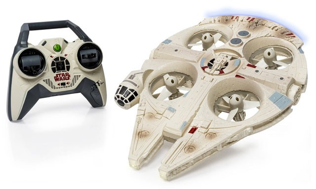 Air Hogs Star Wars Millennium Falcon Heli Vehicle