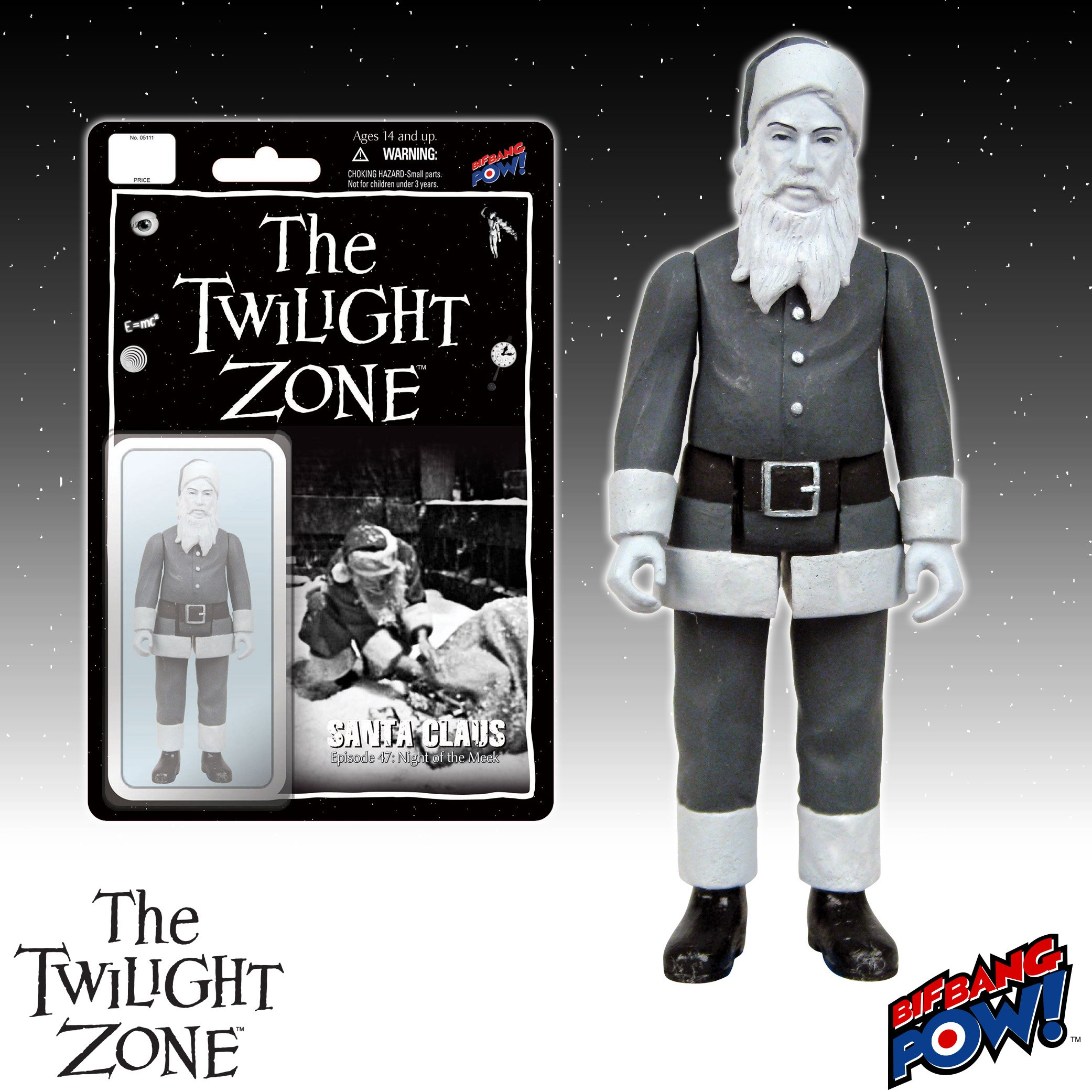 Twilight Zone Santa Figure