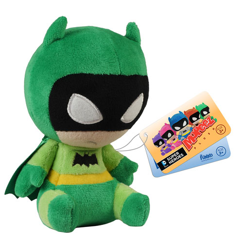 Batman 75th Anniversary Green Rainbow Batman Mopeez Plush