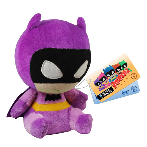 Batman 75th Anniversary Purple Rainbow Batman Mopeez Plush
