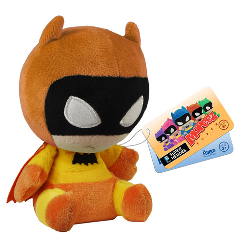 Batman 75th Anniversary Yellow Rainbow Batman Mopeez Plush