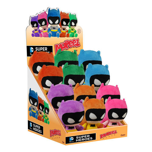 Batman Rainbow Batman Mopeez Plush Display Case