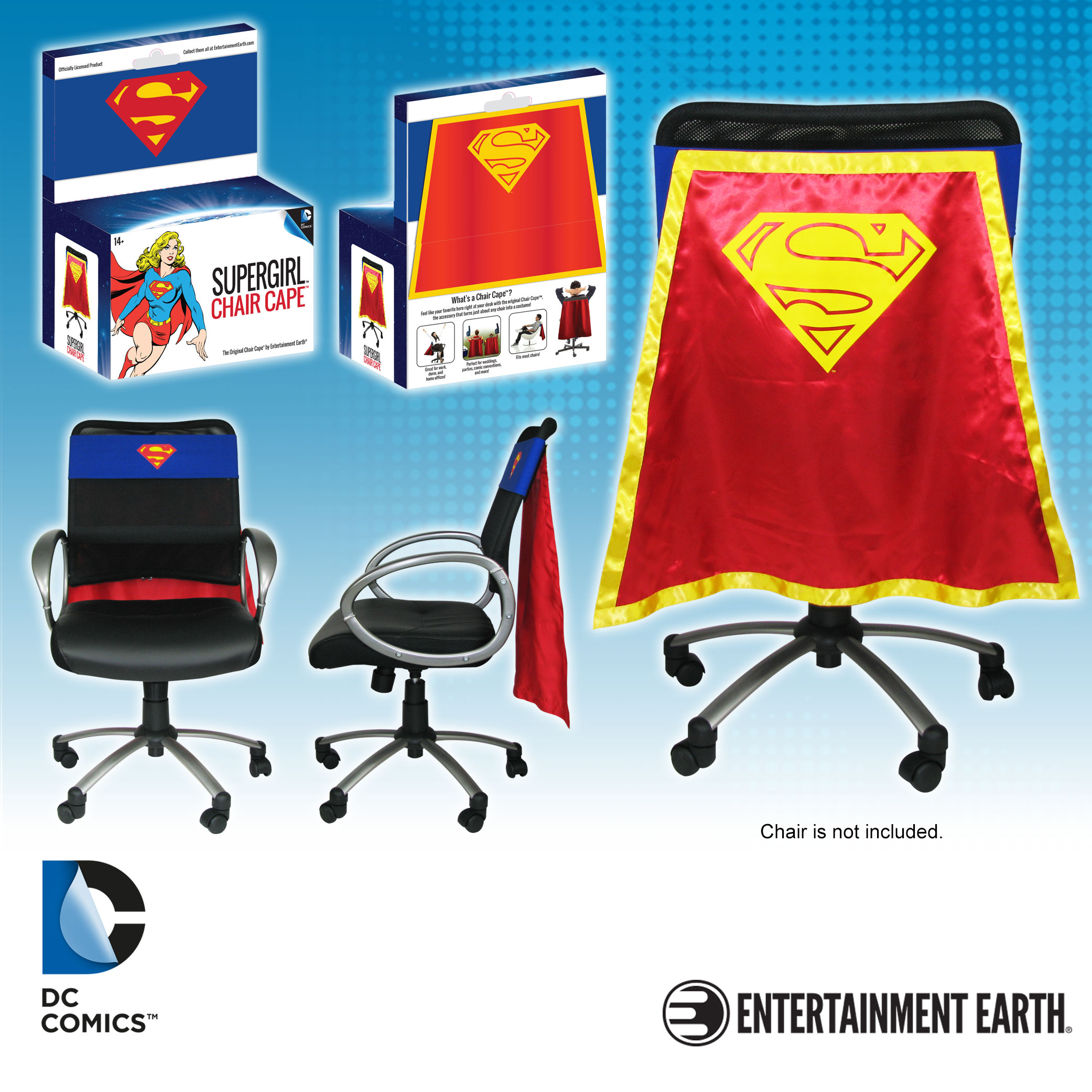 Supergirl Chair Cape