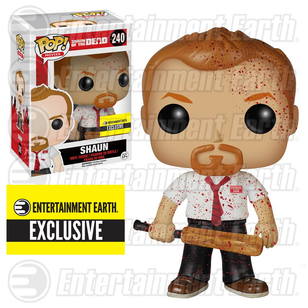 Shaun of the Dead Bloody Pop! Exclusive