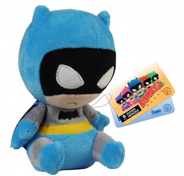 Batman 75th Anniversary Blue Rainbow Batman Mopeez Plush