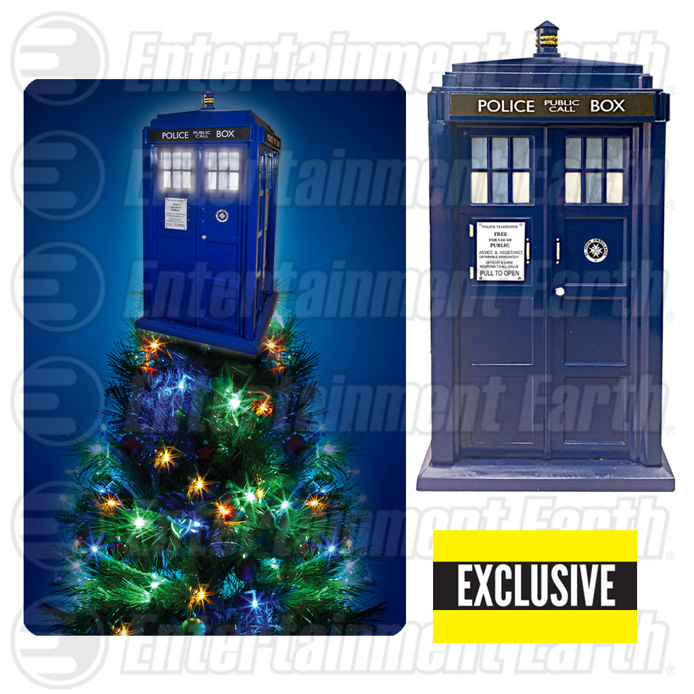 Doctor Who TARDIS Tree Topper Exclusive