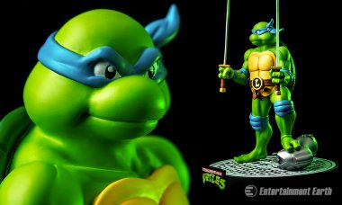 Leonardo Leads New TMNT Statues by Ikon Collectibles