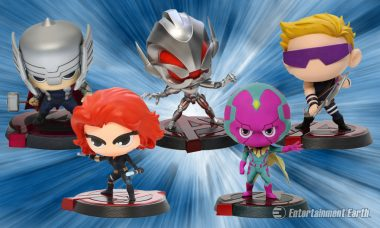 Can the Avengers Defeat Their Villains by Bobbling Victoriously?