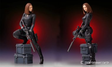 Trained in the Red Room, This Black Widow Statue Is Ready to Do Some Serious Damage