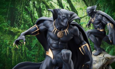King T'Challa Invites You to See the New Marvel Black Panther Statue