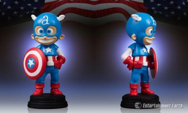 Baby Captain America Is Ready to Save the Day as New Statue Based on Skottie Young Art