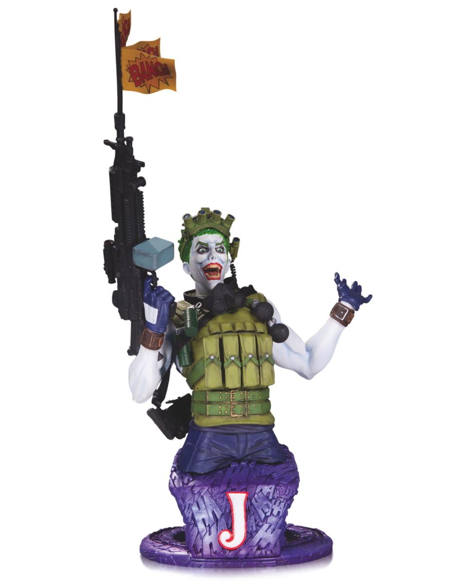 Super Villains Joker Bust