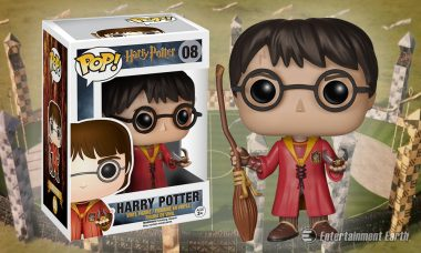 Go, Go Gryffindor with New Harry Potter Quidditch Pop! Vinyl Figure