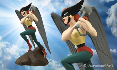Hawkgirl Flies into Action as the Newest Justice League Femme Fatales Statue