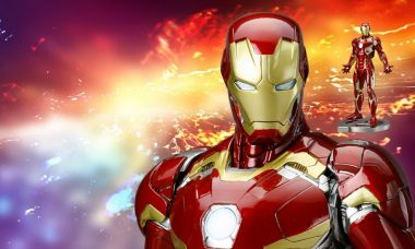New Iron Man ArtFX Statue Shines in Mark 45 Suit from Kotobukiya