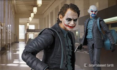 Make the Perfect Getaway with the New Joker MAFEX Figure