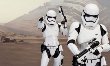 Pull the Trigger on this First Order Stormtrooper Statue 2-Pack