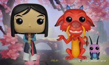 Let's Get Down to Business to Collect the Mulan Pop! Vinyls
