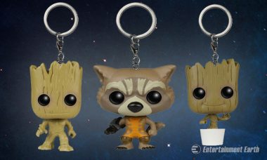 We Fell in Love With Guardians of the Galaxy Pocket Pop! Key Chains and You Will Too