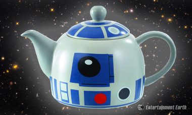 Enjoy a Nice Cuppa with the Adorable R2-D2 Ceramic Teapot