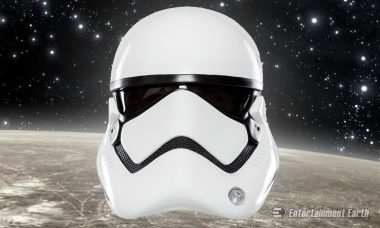 You'll Stay on Target with this Star Wars Stormtrooper Helmet Prop Replica